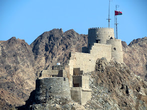 Photo: Muscat - Mutrah Fort