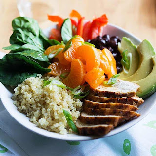 Mandarin Orange and Quinoa Chicken Bowls