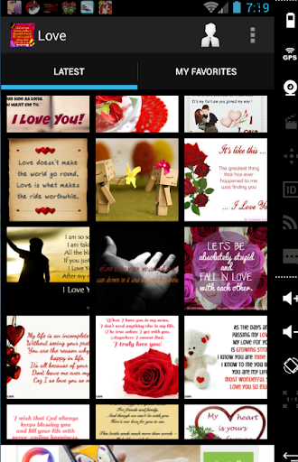 love messages cards wallpapers screenshot 1