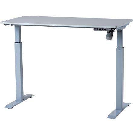 Skrivbord höj-sänk 120x60 grå