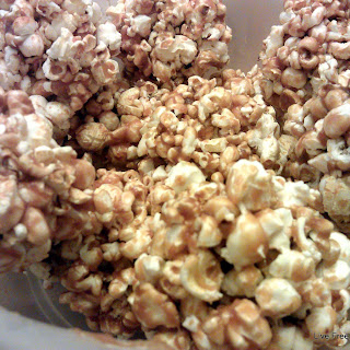 Peanut Butter and Honey Popcorn Balls