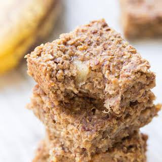 Flourless Banana-Quinoa Breakfast Bars.