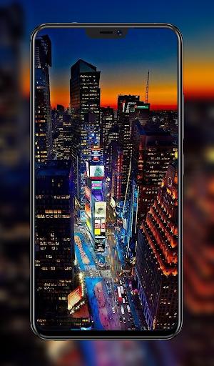 Romantic Night City Wallpaper 4k App Report On Mobile Action