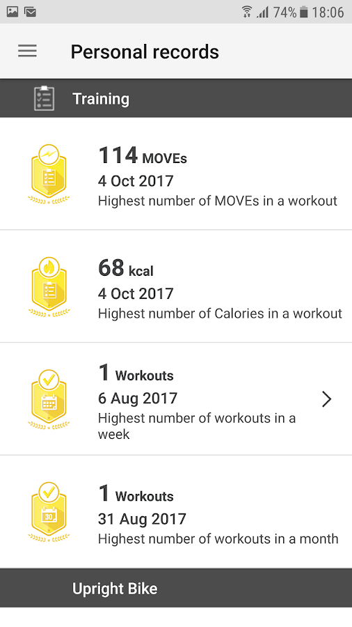 Dubai Fitness Challenge- screenshot