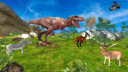 Dinosaur Games Simulator 2018  captures d'écran 5
