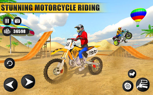 Beach Water Surfer Dirt Bike: Xtreme Racing Games apkdebit screenshots 1