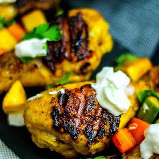 Grilled Chicken Tikka Drumsticks.