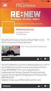 Proforma Events - náhled