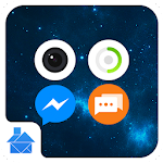 Night: DU Launcher Theme 1.1 Apk