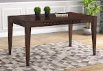Buy the 6 Seater Dining Table in Big Sale at WoodenStreet, Mumbai.