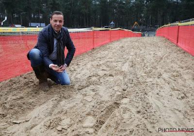 """Herygers test de ondergrond in Oostende en duidt dé cruciale strook aan: """"Het is smerig zand, rotzand"""""""
