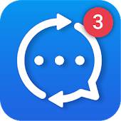 Mobile Messenger: All-in-one Chat, Hide Blue Ticks Icon