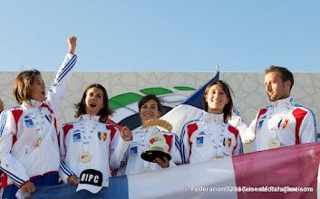 Photo: Le vol relatif à 4 Féminin remporte haut la main l'épreuve, 4ème DIPC 2013