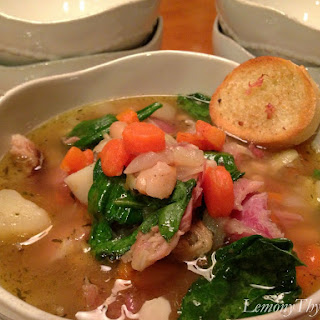 Ham Bone Soup {Warm & Tasty}