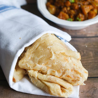Buss Up Shut Paratha Roti