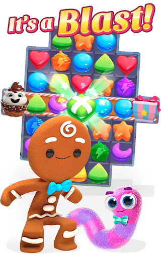 Cookie Jam Blast - Match & Crush Puzzle 3.0.131 screenshots 1
