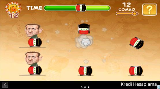 تطبيق لأجهزة أندرويد : لعبة اضرب بشار وبراميله المتفجرة GU3J3NVGBJBshdmwPxaE5YfIYFKsB9O7Bh92amnQnNPgNGd3tslB0diPYtFV7hXgP-w=h310