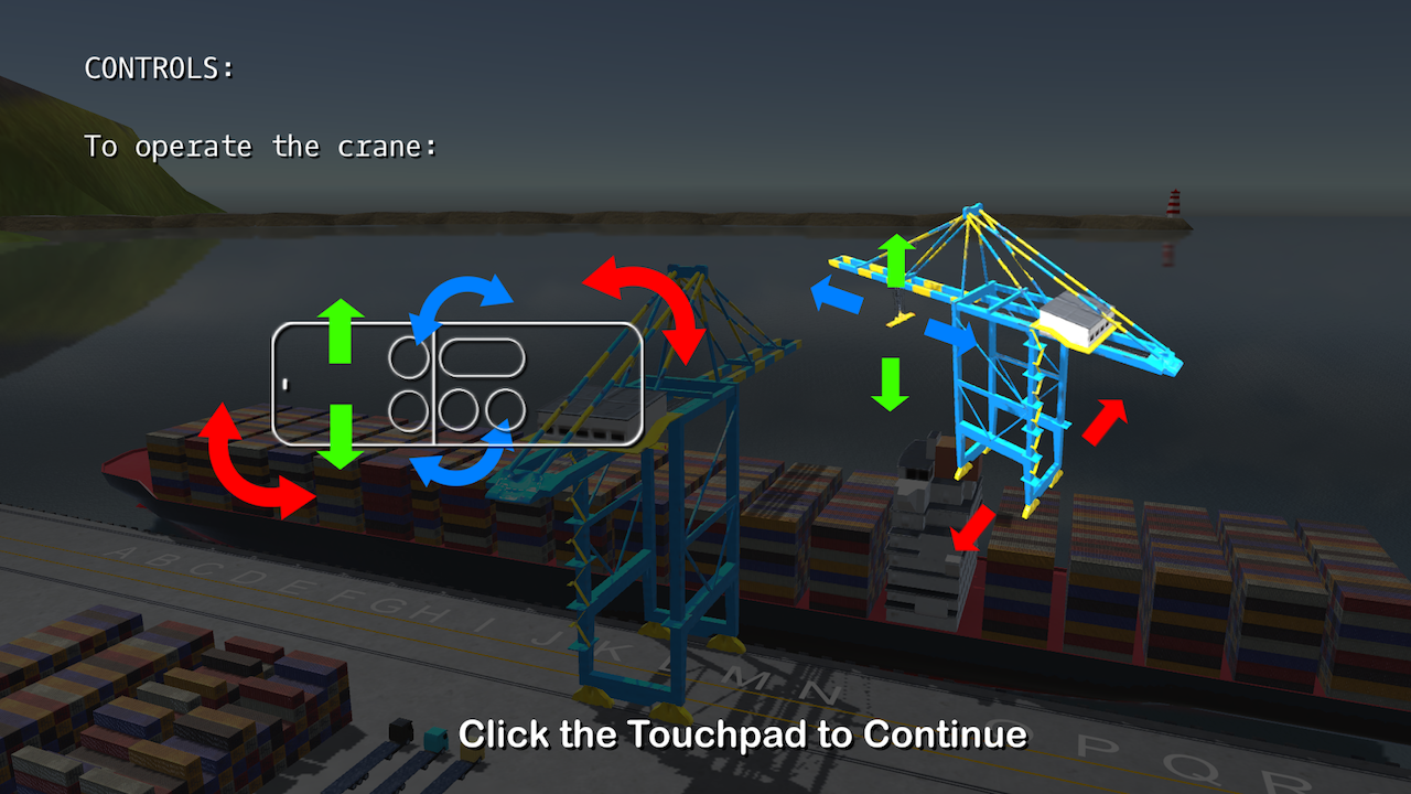 Harbor Crane Challenge- screenshot