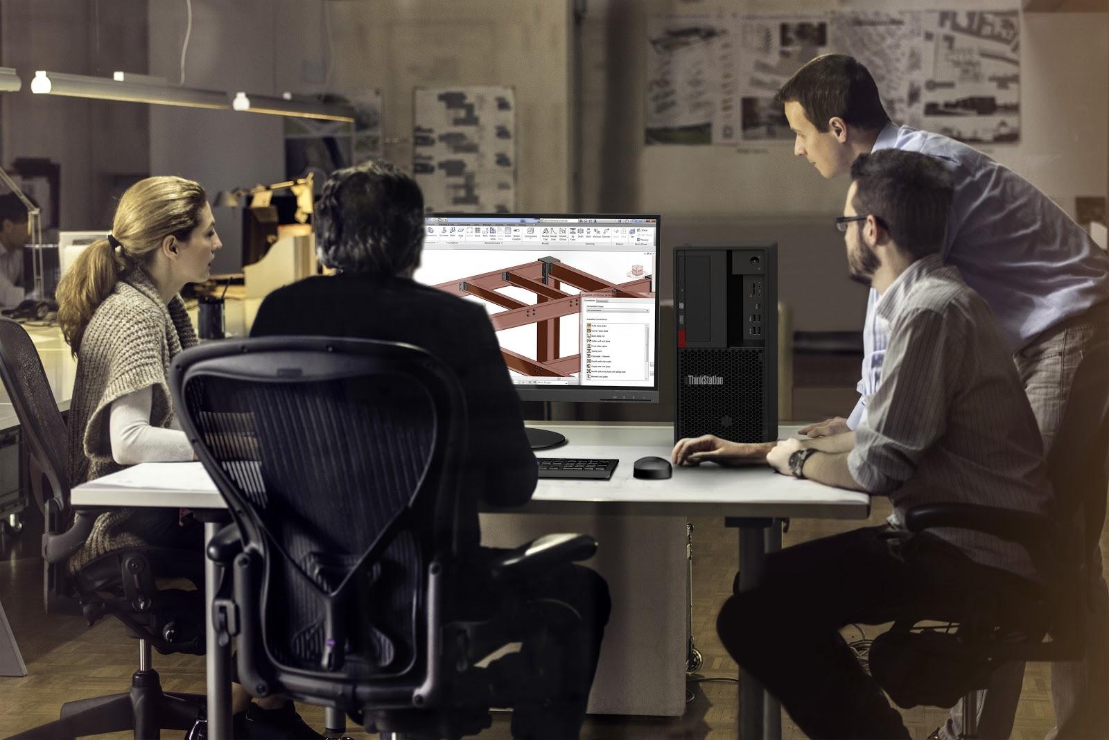 Para melhores resultados da workstation, aposte também em bons monitores
