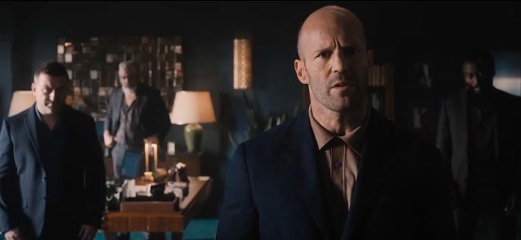 Jason Statham as H in a scene from the trailer for 'Wrath of Man'.