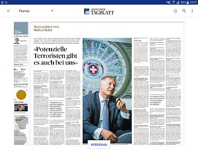az Grenchner Tagblatt E-Paper screenshot 7