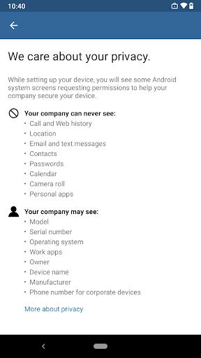 Intune Company Portal 5.0.4779.0 screenshots 7