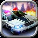 Crime City Police Car Driver icon