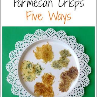 Parmesan Crisps Five Ways.