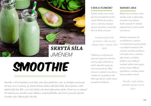 zdravé tipy smoothie