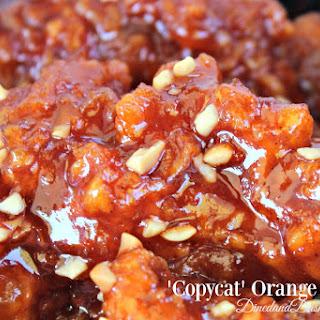'Copycat' Orange Chicken