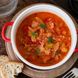 Hungarian Tomato-Pepper Stew (Lecso).
