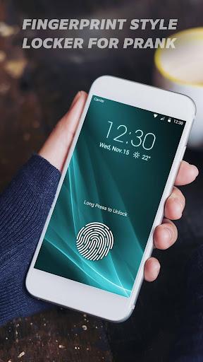 Fingerprint lock screen for prank--Touch ID 9.3.0.2041 screenshots 1