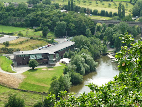 Photo: Notre hébergement à Clécy au pied des Falaises Des Parcs 33 € la 1/2 pension, vin compris...