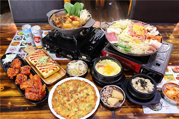 台南美食-韓朝韓式料理 崇明店 新菜色丨老味道 小菜隨意吃到飽實在很划算!!