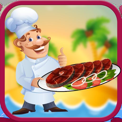 Salmon Fish Baking Game: Seafood Cooking Simulator (game)