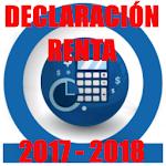 Guía Declaración Renta 2017 - 2018 Icon
