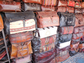 Photo: Leather bags