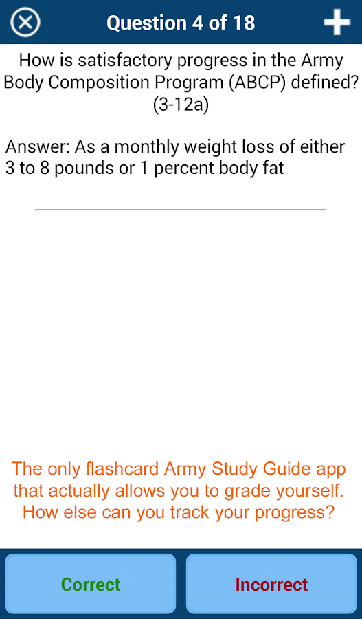 PROmote - Army Study Guide- screenshot