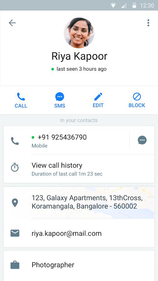 Screenshots of Truecaller: Caller ID & Dialer for iPhone