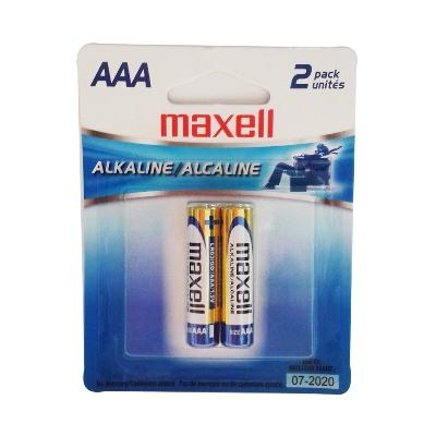 bateria maxell alcalina aaa 2und Maxell