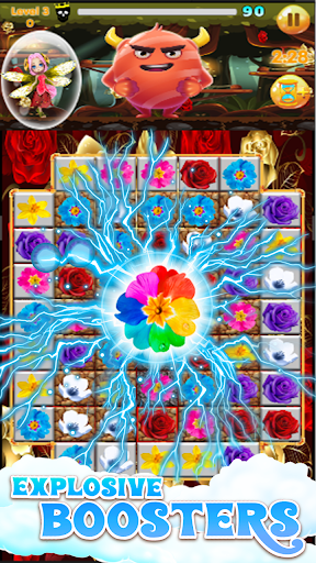 Flowers Blast - flower games 1.14 screenshots 1