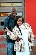 Mshoza with Thuthukani Mvula in happier times.
