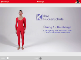 Screenshot of DR.KADE RückenFit