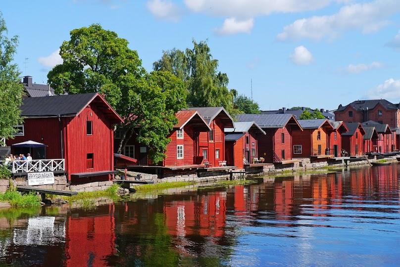 Domy skandynawskie drewniane