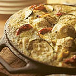 Frittata Met Pesto, Courgette En Artisjokharten