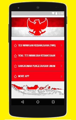 Tes Wawasan Kebangsaan (TWK)  CPNS Terbaru 2018 3.0 screenshots 2