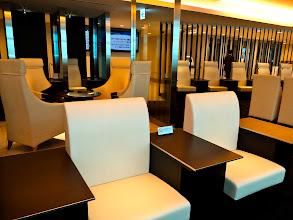 Photo: Haneda airport ANA Diamond Lounge.