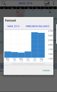 Budget Calendar- screenshot thumbnail