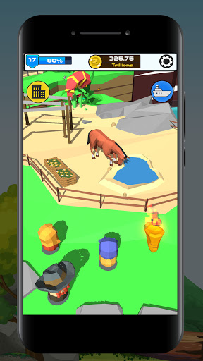 Idle Zoo 3D: Animal Park Tycoon android2mod screenshots 1