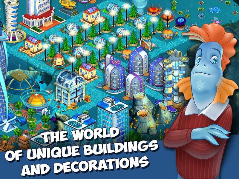 Aquapolis. Free city building! Screenshot 2